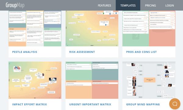online brainstorm tool groupmap